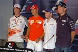 Conferencia de prensa FIA jueves: Ralf Schumacher, Michael Schumacher, Nick Heidfeld y Nico Rosberg