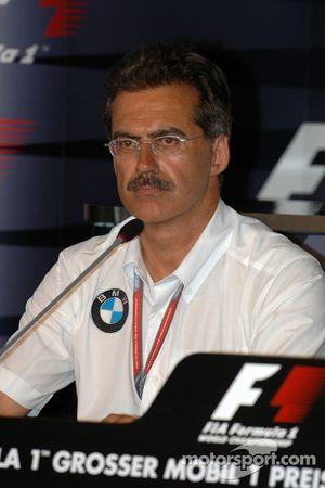 FIA Friday press conference: Dr. Mario Theissen