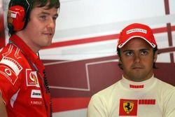 Rob Smedly und Felipe Massa