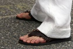 The shoes of Michael Schumacher