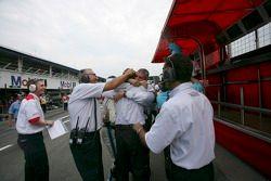 Trident Racing célèbre la victoire de Gianmaria Bruni