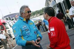Flavio Briatore y Jean Todt