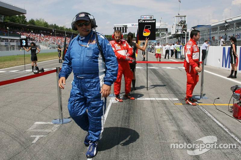 Pat Behar, FIA delegado de fotógrafos