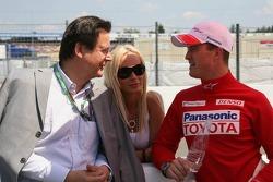 Ralf Schumacher con su esposa Cora