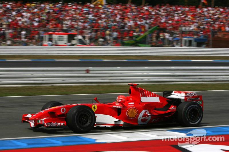2006 (Hockenheim): Michael Schumacher (Ferrari 248 F1)