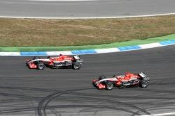 Christijan Albers und Tiago Monteiro