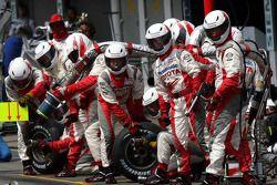 Pitstopp von Ralf Schumacher