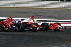 Vitantonio Liuzzi and Ralf Schumacher