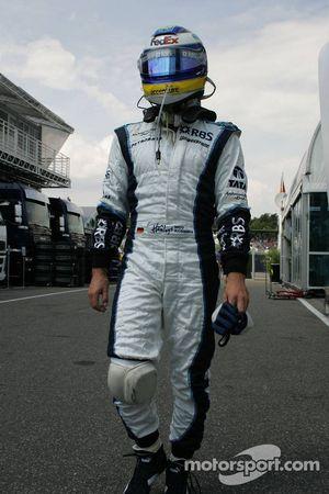 Nico Rosberg en dehors de la course