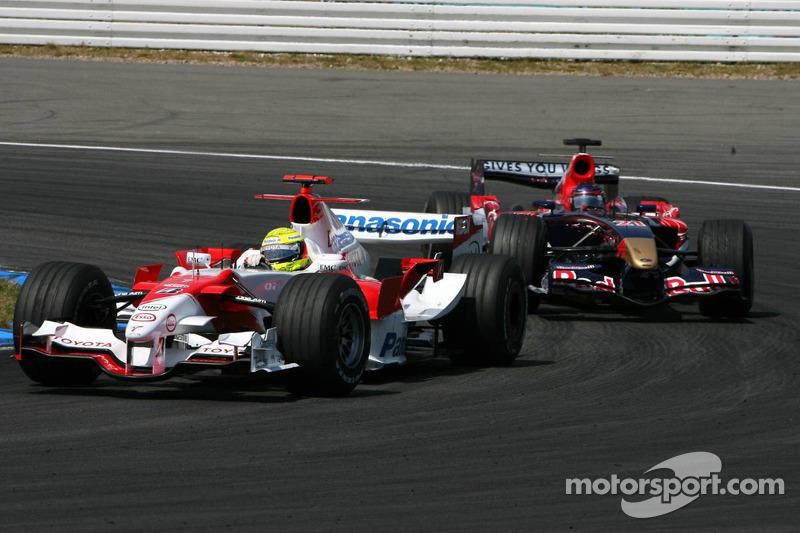 Ralf Schumacher voor Scott Speed
