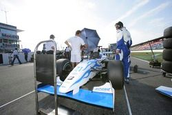 Clivio Piccione en pole position