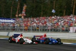 Lewis Hamilton et Ernesto Viso