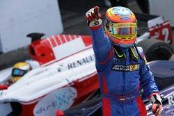 Le vainqueur de la course Timo Glock