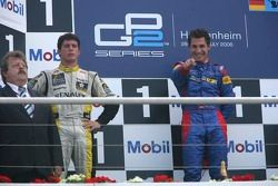 Timo Glock 1er, Jose Maria Lopez 2ème