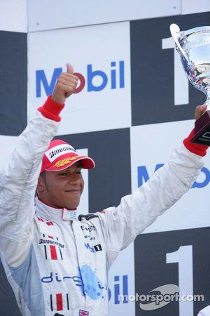 Lewis Hamilton 3ème
