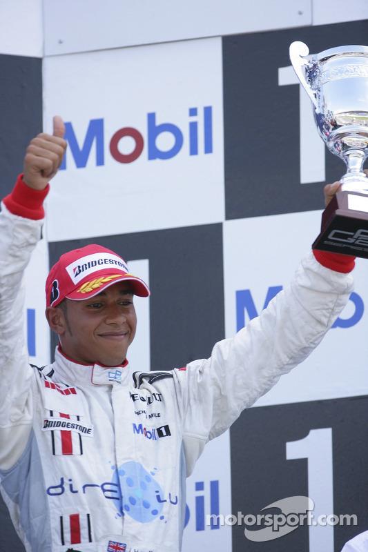 Lewis Hamilton 3rd