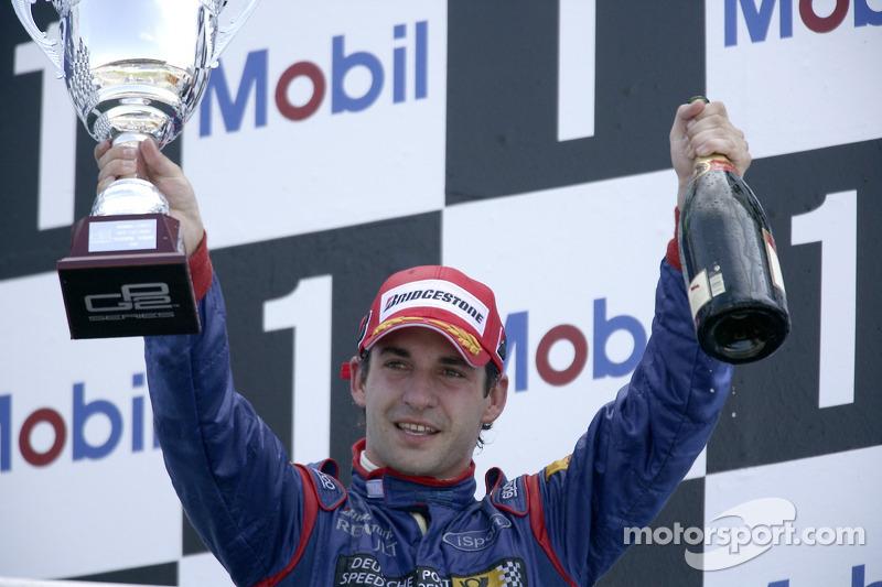 Timo Glock race winner