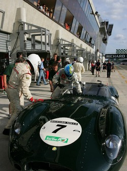 #07 Lister Costin Jaguar 1959
