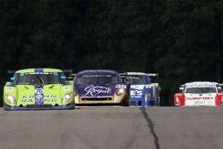 #76 Krohn Racing Ford Riley: Jorg Bergmeister, Colin Braun prennent la tête