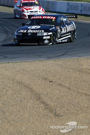 Steven Richards leads Todd Kelly during Friday practice