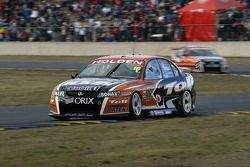 Garth Tander with team mate Rick Kelly in the background
