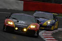 #179 JMB Racing Ferrari 360 Modena: Didier de Radigues, Charles de Pauw, Alain Van den Hove, Paul Belmondo