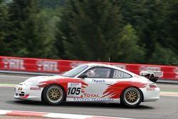 #105 Jean-Claude Meert Porsche 996 RS Cup: Peter Van Delm, Jean-Claude Meert, Maxime Martin, Dries Heyman