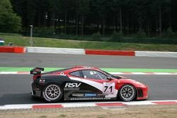 #71 RSV Motorsport SPA Ferrari 430 GT2 LM: Rolet Severin, Domingo Romero, Michel Ligonnet, Peter Sundberg