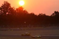 #64 Corvette Racing Corvette C6-R: Olivier Gavin, Olivier Beretta, Jan Magnussen, #7 Audi Sport Team