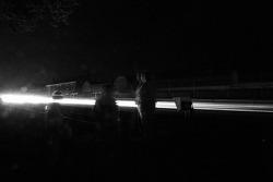 Feux de nuit dans les Hunaudières
