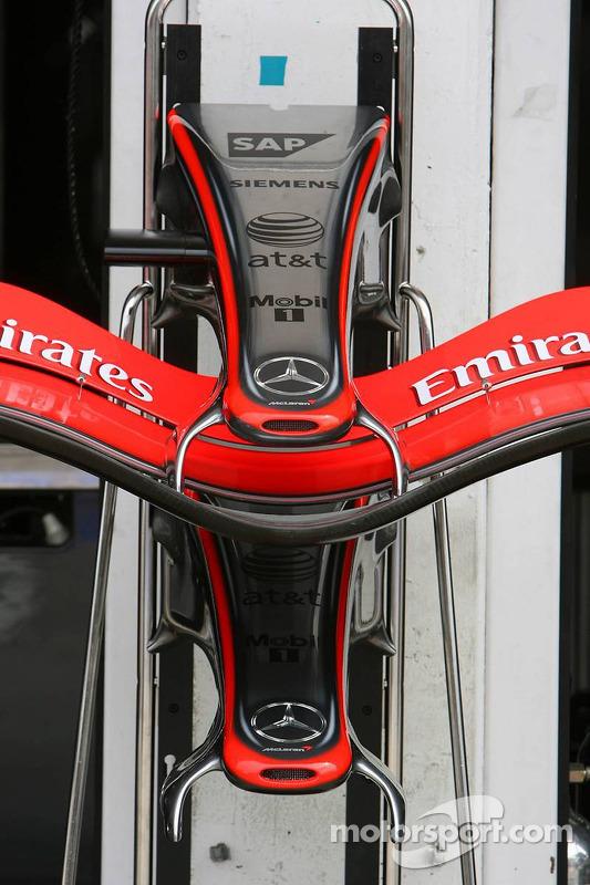 Ala delantera del McLaren Mercedes