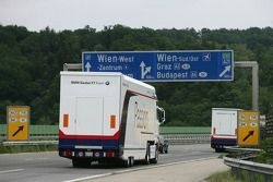 removal experts, BMW: from fren-down Hockenheim (Germany) to rebuild Budapest (Hungary) within three