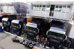 El Red Bull Racing y el Scuderia Toro Rosso Tree House