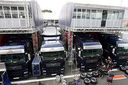 Red Bull Racing ve Scuderia Toro Rosso ağaç ev