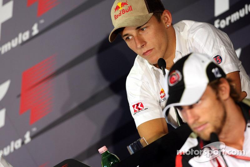 Conferencia de prensa FIA: Christian Klien y Jenson Button