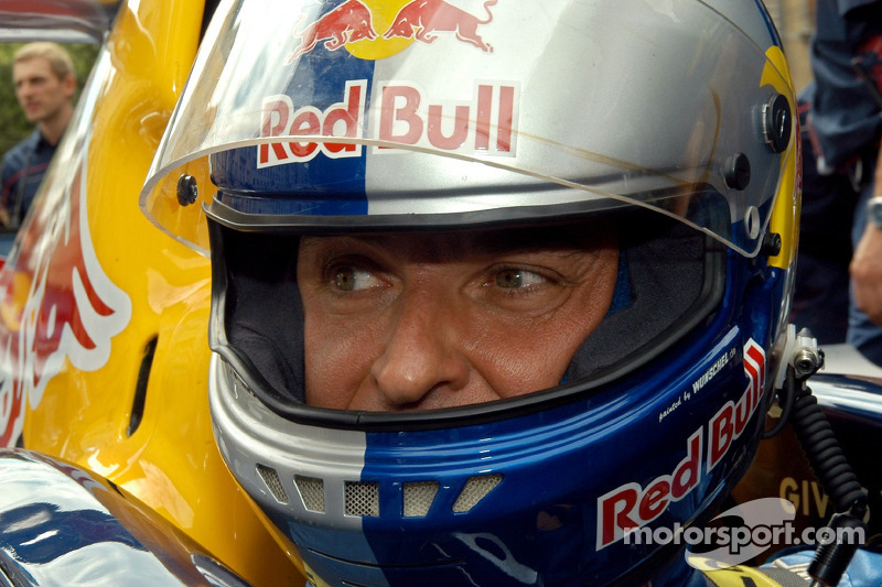 Red Bull Show Run Budapest:  Hungaroring Presidente Laszlo Palik en un RB2