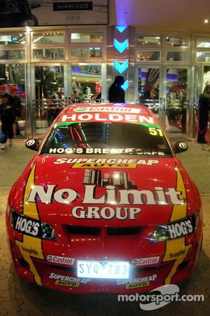 The Supercheap Auto Bathurst 1000 entry to be driven by Greg Murphy and Cameron McConville