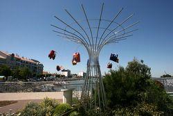 Visit of Vendée: sculpture in Saint-Gilles-Croix-de-Vie