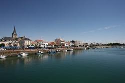 Visite de la Vendée: belle ville de Saint-Gilles-Croix-de-Vie