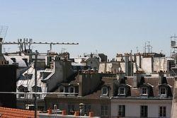 Paris' famous roofs