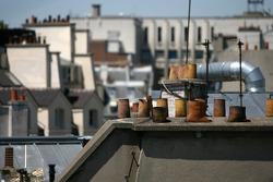 Les célèbres toits de Paris