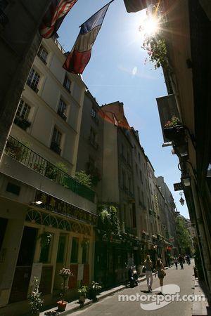 A charming street in Saint-Germain-des-Prés