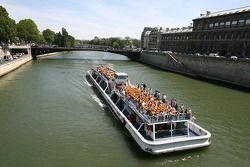 Beautiful Seine river