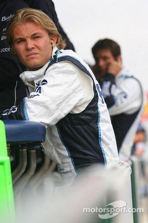 Nico Rosberg y Mark Webber