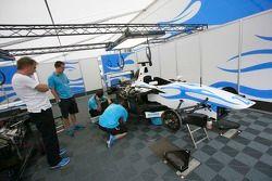 DPR crew prepare their cars