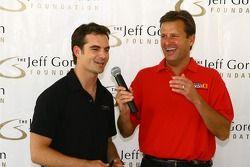 Jeff Gordon et Dave Calabro
