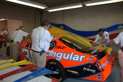 Technical inspection for the Cingular Wireless Chevy
