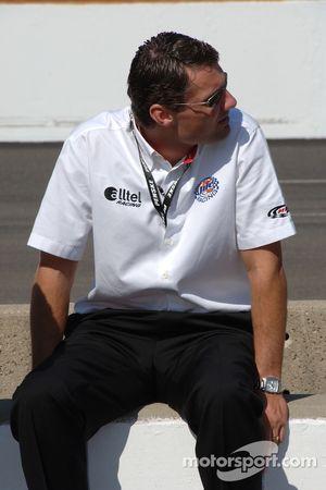 Le président de Penske Motorsport Tim Cindric