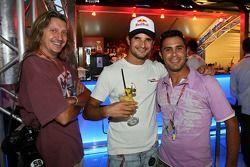 Chilled Thursday at the Red Bull Energy Station: Vitantonio Liuzzi