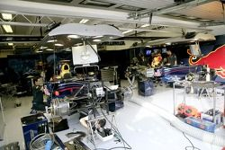 Red Bull Racing garajı